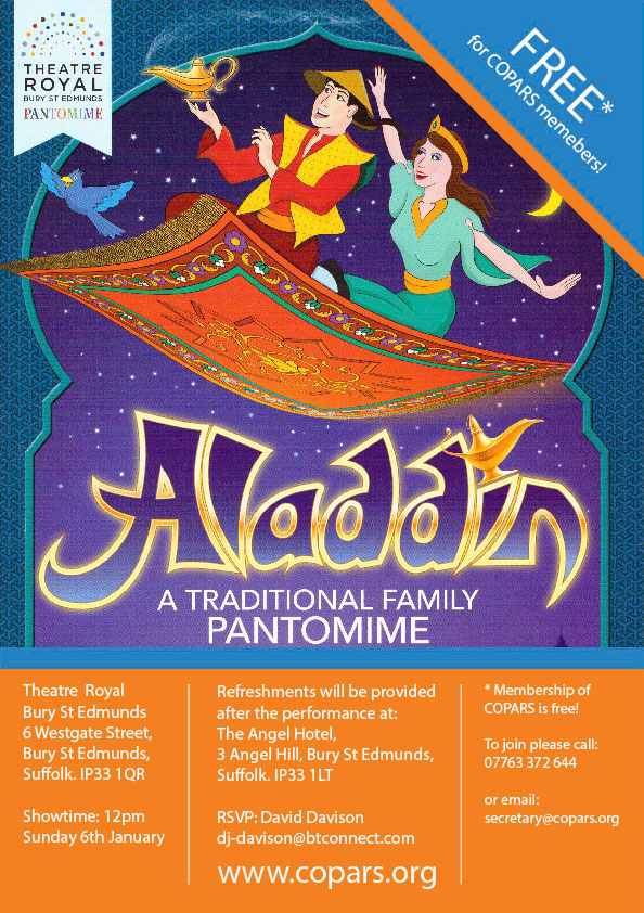 Aladdin COPARS poster